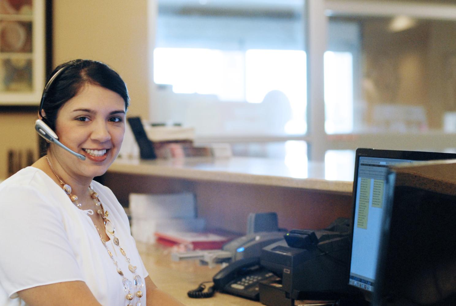 GVEC Receptionist