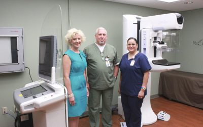 Gonzales Healthcare Systems 3D Mammography Machine