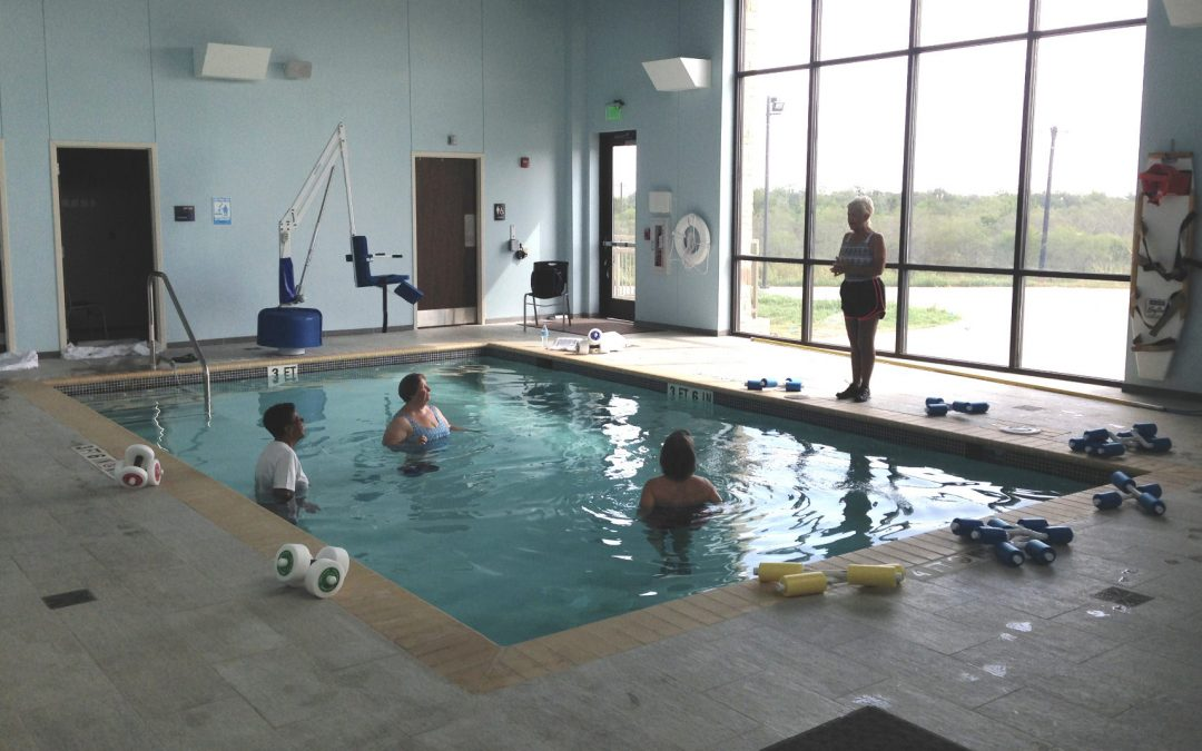 Yoakum Community Hospital Aquatic Therapy Pool Guadalupe Valley Electric Cooperative