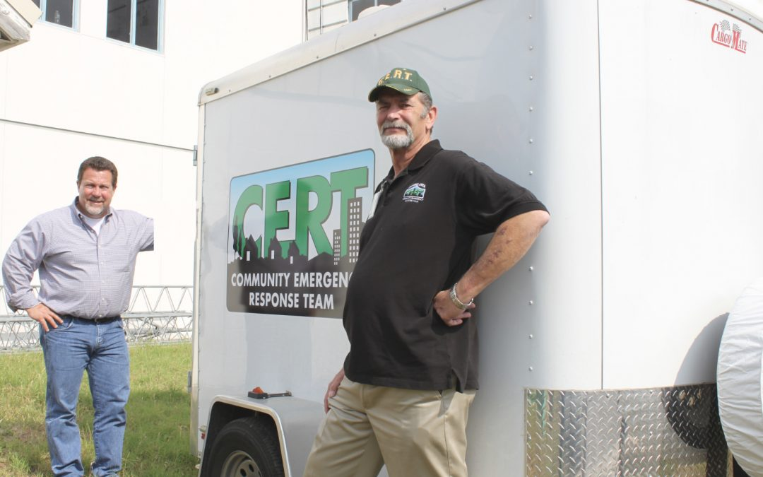 Equip a portable Emergency Response trailer