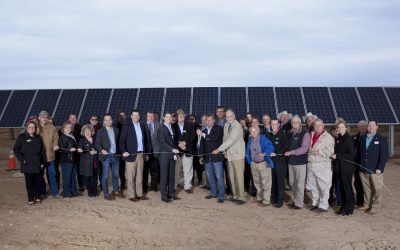 GVEC Celebrates Completion of SunHub™ Generation Station—It's one of the first community solar projects of its kind in Texas