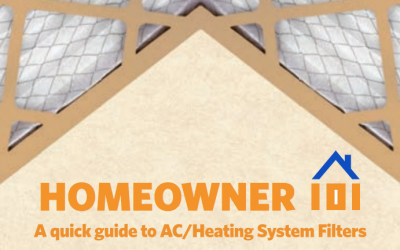 Homeowner 101: A Quick Guide to AC/Heating System Filters