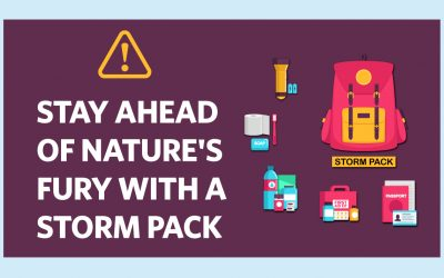 STAY AHEAD OF NATURE'S FURY WITH A STORM PACK