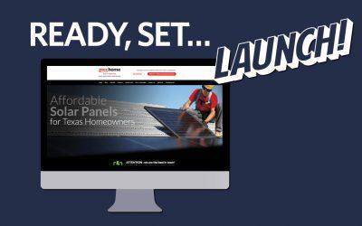 Ready, Set… LAUNCH! Visit us at gvecSolarservice.com