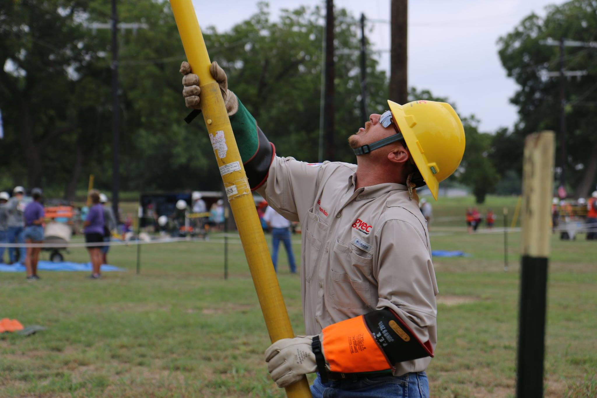 Apprentice lineman event
