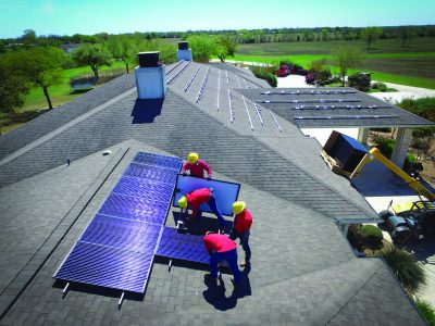 Picture of GVEC Solar Panel Installation