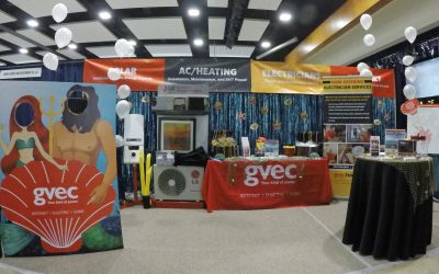 GVEC Goes Behind the Scenes of a Business Trade Show