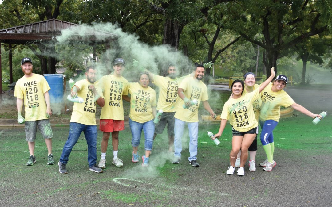 GVEC Employees Host a Color-Filled Day of Giving Back