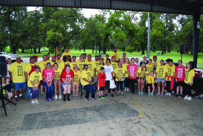 GVEC Gives Back 5k Color Fun Run Group Volunteer Photo