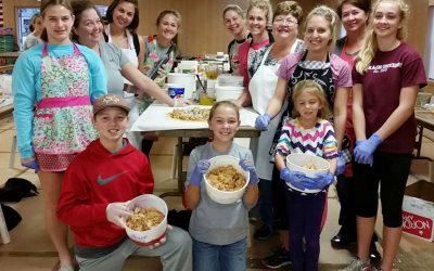 For Community & Church: Shiner Parishioners Make Strudels by the Thousands