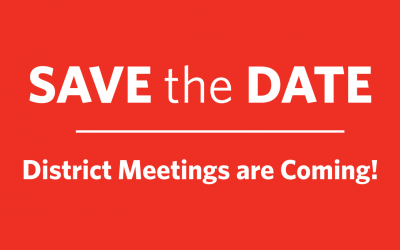 Why to Attend Your GVEC District Meeting
