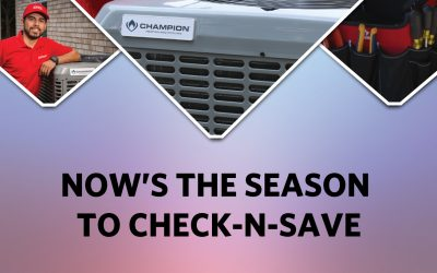 Check-N-Save: Now's the Season for Routine AC/Heating Maintenance