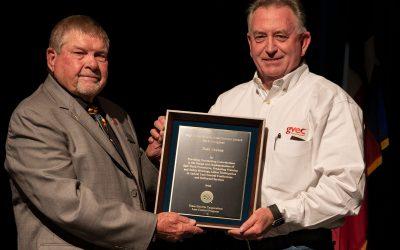 Congratulations Todd Craven on Winning the 2019 TEC Ray Pantel Service Award