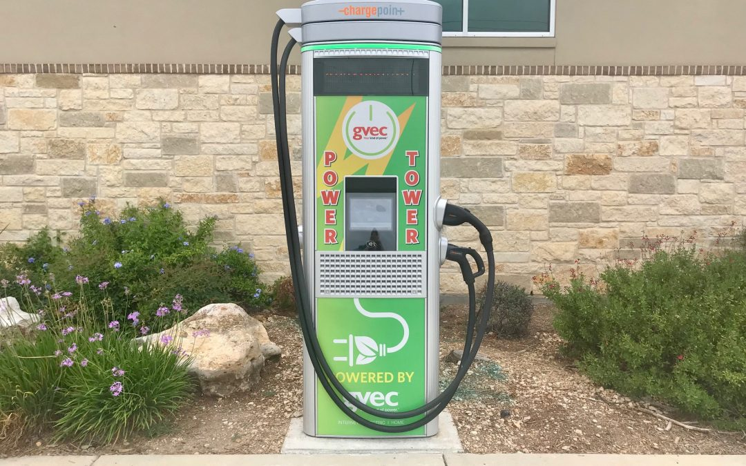 GVEC Power Tower™ EV Charging Stations Open to the Public