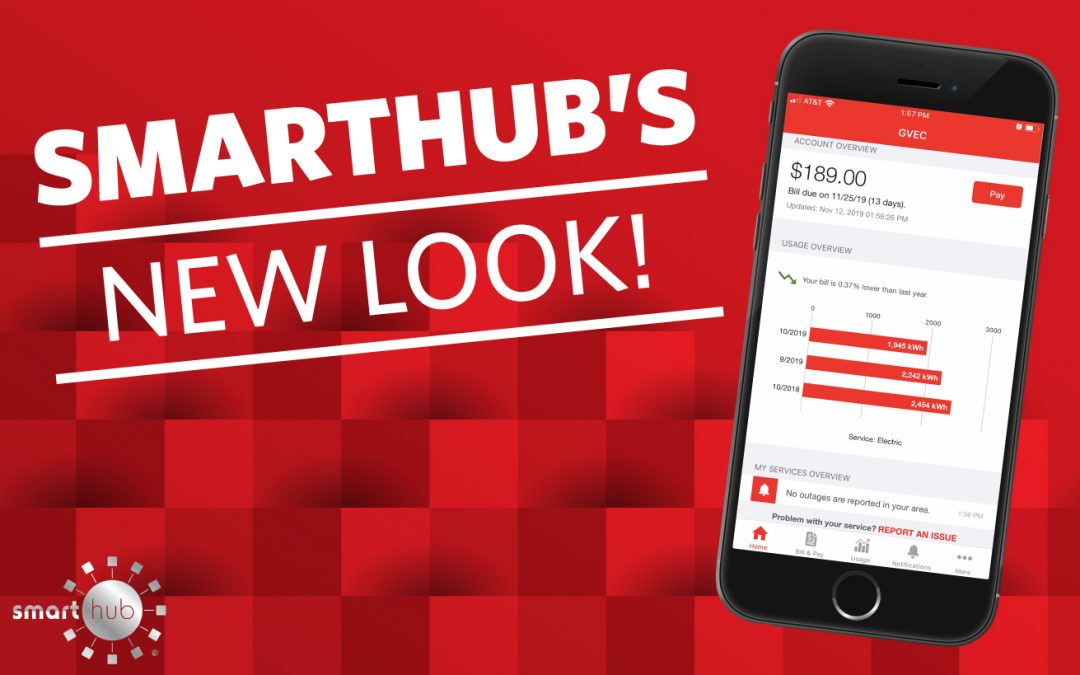 The SmartHub® App's Smart New Look