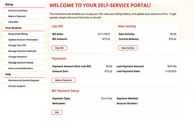 GVEC Internet's New and Improved Self-Service Customer Portal