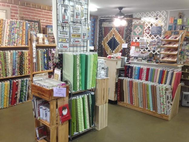 The Square Quilter Shop Interior