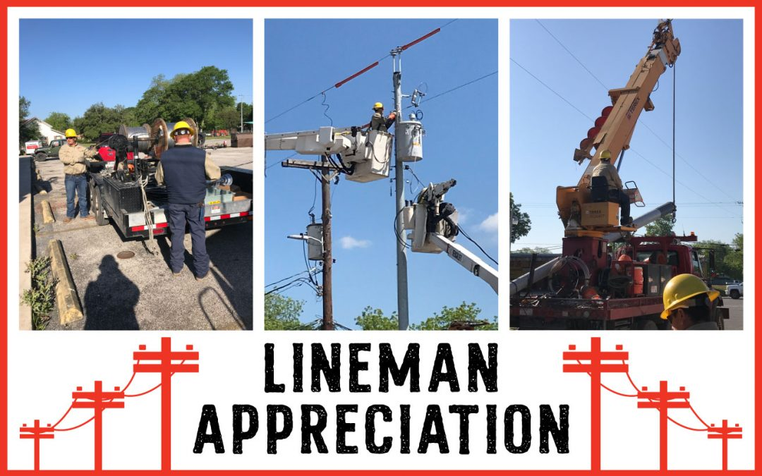 Holding the Line on Lineman Appreciation Day