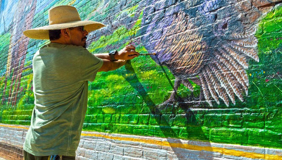 All the World as Canvas: Cuero Man Transforming Daydreams into Art