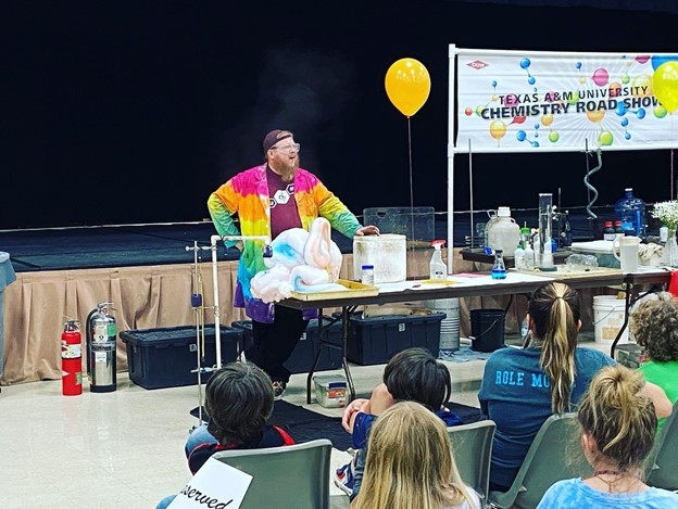 GVEC Brings Texas A&M Chemistry Road Show to Area Locations