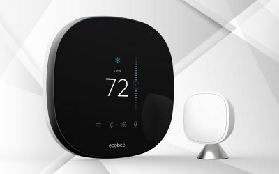 Ecobee SmartThermostat with Voice Control: Overview of One Buzzy Thermostat
