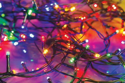 history of Christmas lighting, Christmastime lighting